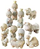 Precious Moments Mini Nativity Series, Set/11 Mini Nativity Figurines