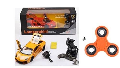 2125D-Toycity-Sport-Racing-Car-Toy-Genuine-License-Lamborghini-164-Grand-Sport-Remote-Control-RC-Car-Big-114-Scale-Size-w-Bright-LED-Lights-Opening-Doors-Detailed-Construction-COLORORANGE