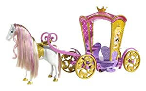 Disney Enchanted Tales Musical Carousel Coach Playset