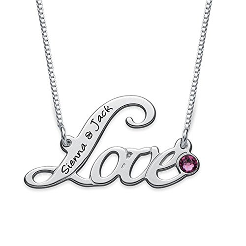 Customized Script Love Necklace Customized Name Necklace Custom for Lover Friend gift