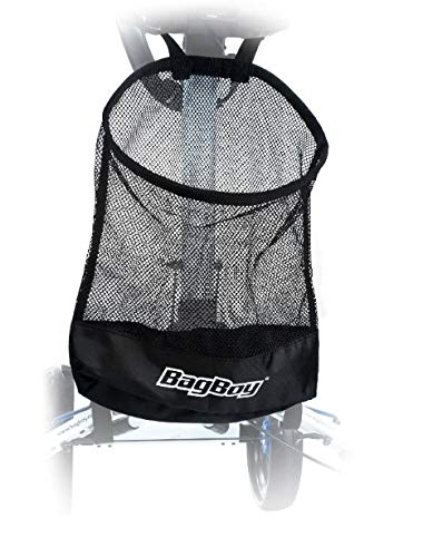 Bag Boy BB12811 Cart Storage Basket, Black, One - Bag Golf Cart Boy Folding