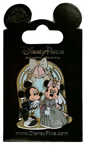 Pin - Mickey Mouse and Minnie Mouse - Wedding