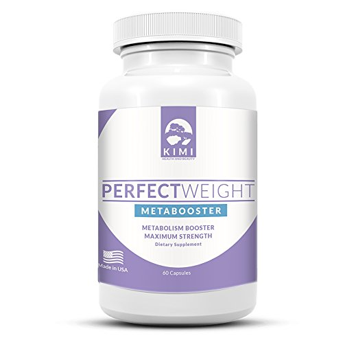 Perfect Weight | Weight Loss Pills - Metabolism Booster for Healthy Weight Loss - Premium Green Tea Supplement with EGCG by KIMI