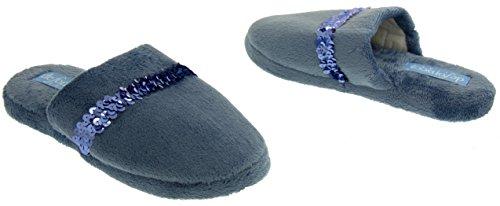 Bleu à Ouvertes Studio femme Footwear l'arrière qWRT0wZX