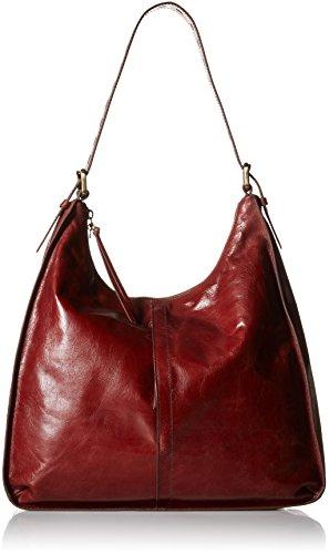 [Hobo Women's Leather Marley Shoulder Bag (Mahogany)] (Hobo Purses)