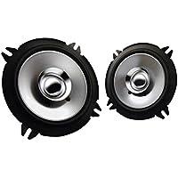2) New Kenwood KFC-C1355S 5.25 250 Watt 2-Way Car Audio Coaxial Speakers Stereo