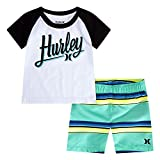 Hurley Baby Boys' Swim Suit 2-Piece Outfit