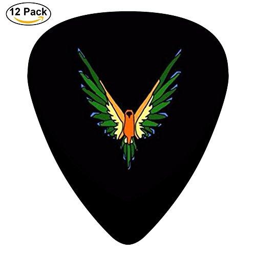 Logan-Paul-Logo 3 D Print Custom Celluloid Guitar Picks 12-Pack 0.46mm 0.71mm And (Blue Logan Check)