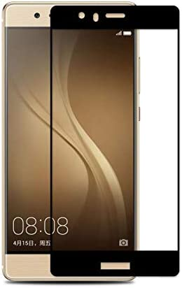 Jaorty Huawei P9 Lite Full Cover Screen Protector,Full Coverage Tempered Glass 3D Round Edge 9H Hardness Anti-Scratch HD Clear Easy Installation for ...