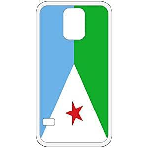 Djibouti Flag White Samsung Galaxy S5 Cell Phone Case - Cover
