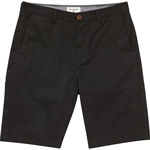 Billabong Little Boys' Chino Walkshort, Black Carter, 4S Black Chino Walkshort