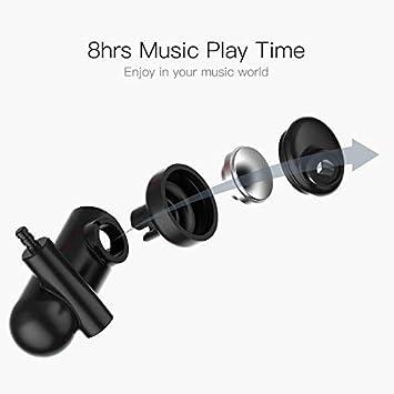 LYe Deportes en la Oreja, Deportes Auricular Bluetooth Auriculares inalámbricos a Prueba de Viento con