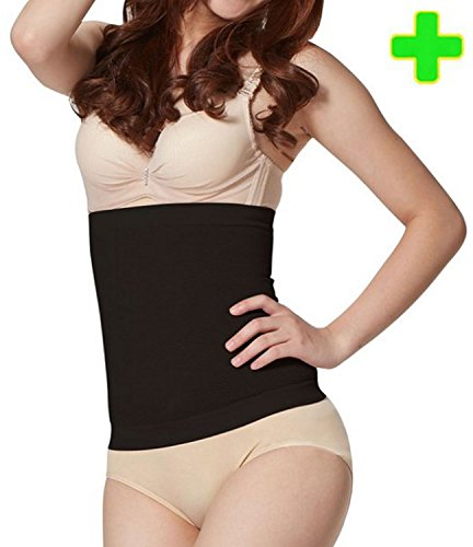 HealthyNees Waist Slimming Tummy Trimmer Instant Compression Body Toning Shaper Wrap