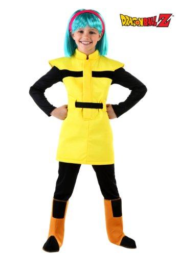 Big Girls' Dragon Ball Z Bulma Costume (Bulma Costume)