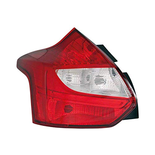Replacement For Ford Focus 2012-2014 Replace Driver Side Tail Light