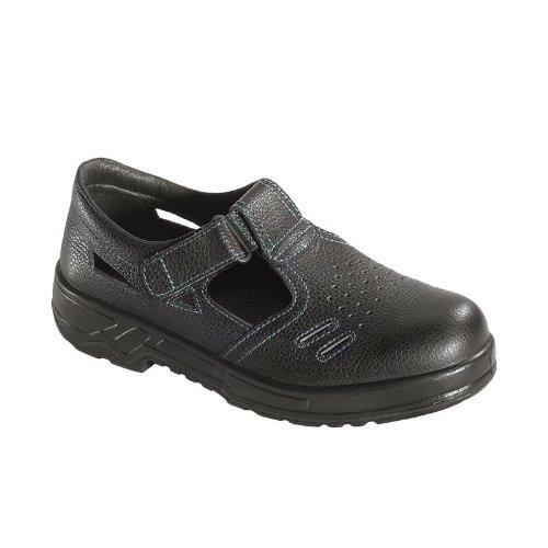 Sicherheits-Sandale GAP S1, Größe: 44, Farbe: schwarz