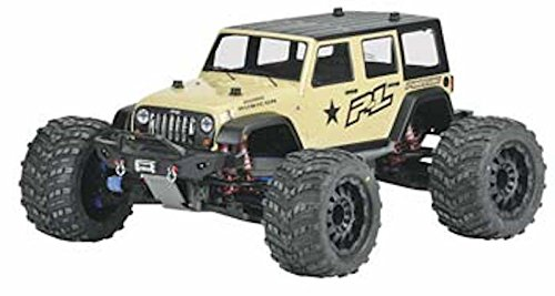 PROLINE 340500 Jeep Wrangler Unlimited Rubicon Clear Body Vehicle Part