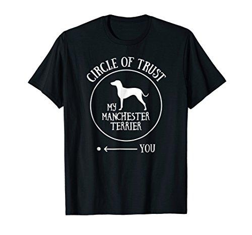 Manchester Terrier T-Shirt Dog Owner Gift - Joke Gag Tee