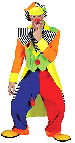Spanky Stripes Adult Clown Costumes - SALES4YA Adult-Costume Spanky Stripes Adult Clown