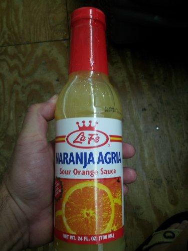 arinade Naranja Agria 24 Oz Plastic Bottle Safe ()