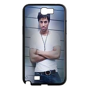 Enrique Iglesias Samsung Galaxy N2 7100 Cell Phone Case Black stkq