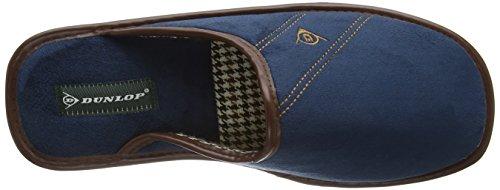 Dunlop Herren Alphonse Hausschuhe Blau (Navy)