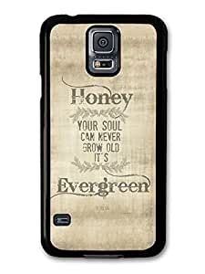 AMAF ? Accessories Ed Sheeran Evergreen Thinking Out Loud Song Lyrics case for Samsung Galaxy S5