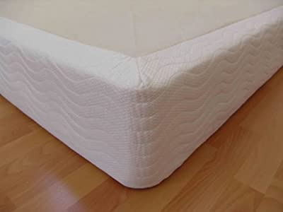 "DynastyMattress Queen Bed 8"" Thick Wood Box Foundation for memory foam, latex, and air mattresses"