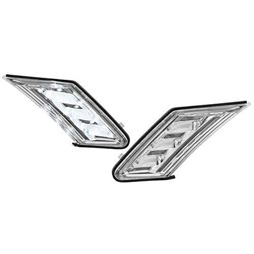 JDM 3D Chrome Clear Side Marker LED Lamp Conversion For FRS FR-S BRZ GT86 13-16