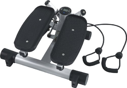 AsVIVA ST1 Stepper / Mini Stepper - das Fitnessgerät zum mitnehmen inkl. Gummibänder