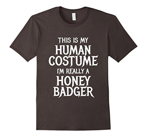 Mens Honey Badger Halloween Costume for women men kids easy funny XL (Honey Badger Costume Halloween)