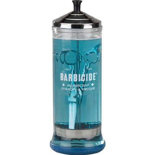 Top Performance Glass Barbicide Soaking Jar for Pets, 37-Ounce