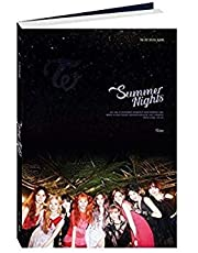 Twice - [Summer Nights 2nd Special Album C Ver CD+1p plakat (wł.) + fotobook + 6PhotoCard+2p Post+Pre-Order K-POP uszczelniony