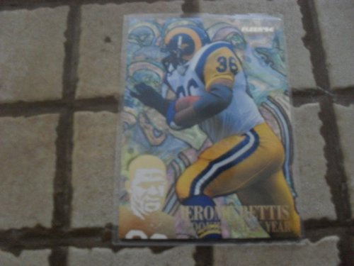 1994 Fleer Jerome Bettis Rookie of the Year #10 Card