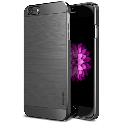 Obliq OBIP6-SMA02 Slim Meta Case für Apple iPhone 6/6S space grau