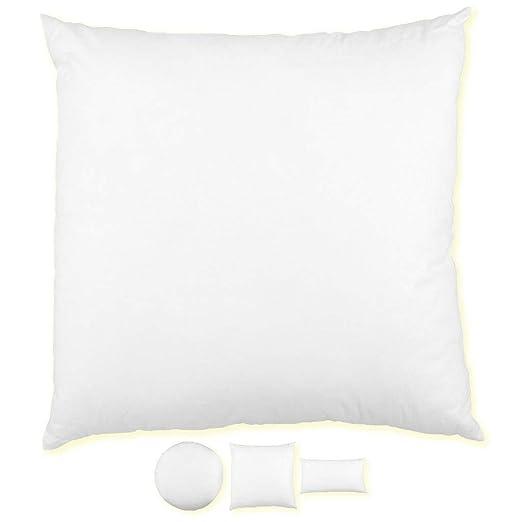 El relleno de almohadas cojines de relleno de almohada cojín del sofá almohada de plumas de almohadas, poliéster, blanco, 30 x 50 cm