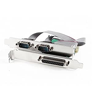 DB9 RS232 2 puertos serie + 1 puerto paralelo DB25 al adaptador de la tarjeta PCI-E