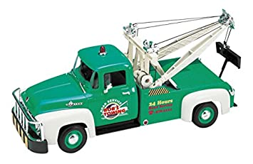 WELLY 1/18 camiones grúa Ford F-100 1956 verdes: Amazon.es ...