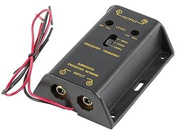 Fixapart CAR-AX01 amplificador para coche - amplificadores para coche (Negro, 6,5 cm, 9,5 cm, 3 cm)