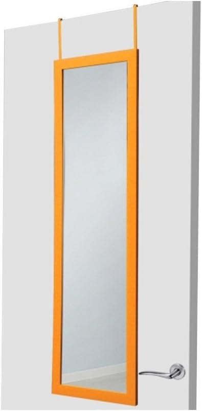 UNIMASA 122551 Espejo Puerta PVC Naranja, 36x126x2 cm: Amazon.es: Juguetes y juegos