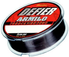 Sunline 60073872 Shooter Defier Armilo Stealth Dk Gray 13 lb Fishing Line, Stealth Dark Gray, 165 yd