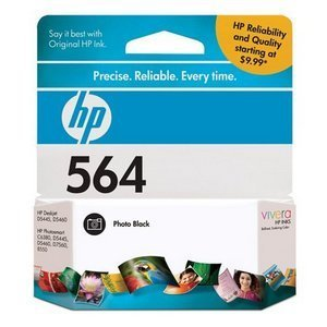 HP 564 Black Photo Ink Cartridge (Hp 564 Photo Ink)
