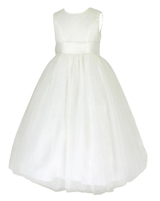 Vestito raso   seta vestito da occasione vestito da ragazza battesimo 18  mesi 2e7950fc8f0