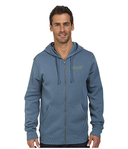 Oakley Mens O-Jupiter Fleece Hoody Zip Sweatshirt Large Chino Blue (Oakleys Aus China)