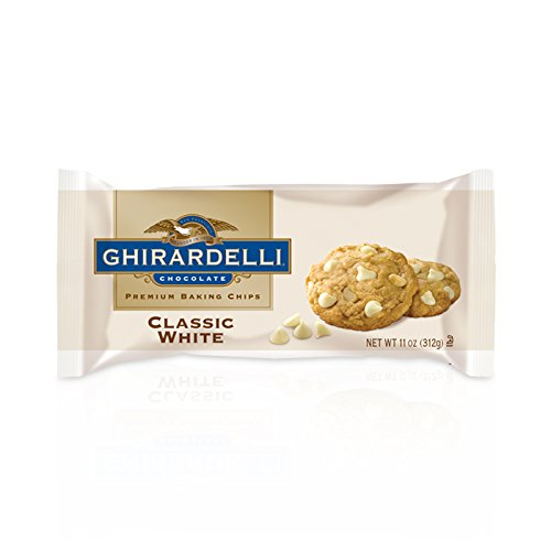 Ghirardelli Premium Baking Chips, Classic White Chocolate, 11 oz