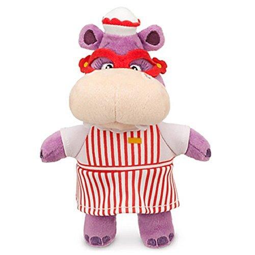 - Disney Jr Doc McStuffins 8'' Hallie Hippo Bean Bag Plush Doll