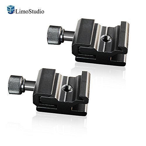 LimoStudio 2Pcs Hot Shoe Flash to Bracket/Stand Mount Adapter Trigger, AGG1623