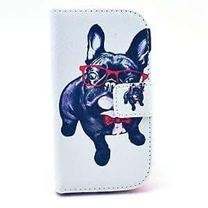 WQQ Teléfono Móvil Samsung - Carcasas de Cuerpo Completo/Fundas con Soporte - Gráfico/Dibujos Animados/Diseño Especial - para Samsung S3 Mini I8190N (
