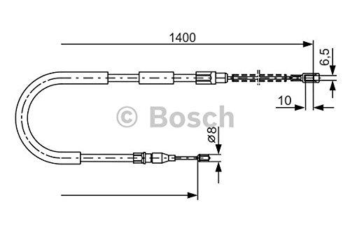 Bosch 1987482218 Cavo di comando del freno