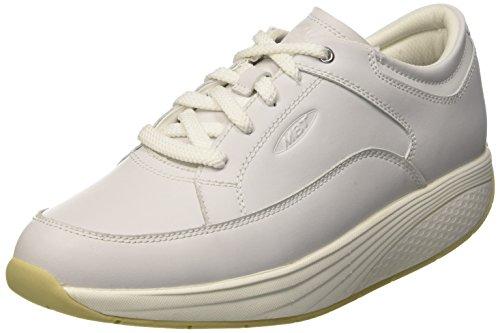MBT Reem, Zapatillas de Estar por Casa para Hombre Blanco (Bianco)